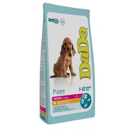 DADO PUPPY MEDIUM POLLO & ARROZ