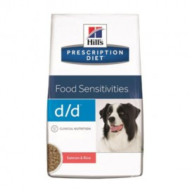 HILL'S PD D/D FOOD SENSITIVITIES SALMÓN & RICE