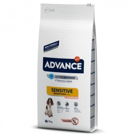 ADVANCE ADULT SENSITIVE MEDIUM/MAXI SALMON & RICE