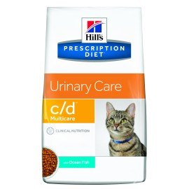 HILL'S PD CAT URINARY CARE C/D MULTICARE FISH