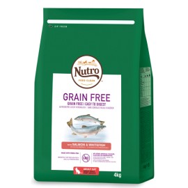 NUTRO GRAIN FREE SALMON & WHITEFISH ADULT CAT